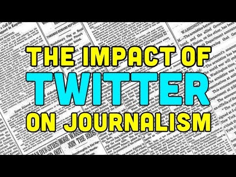 The Impact of Twitter on Journalism | Off Book | PBS Digital Studios