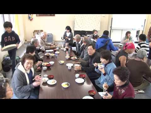 立田小学校行事「山の神」