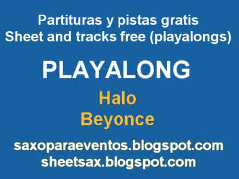 Halo - Beyonce - Playalong And Music Score