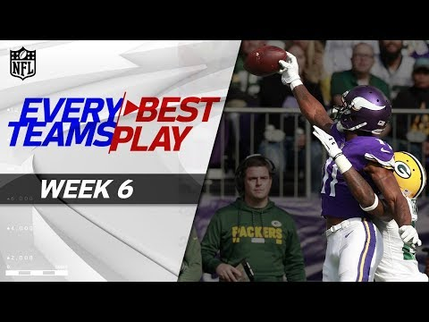 Every Team's Best Play 💯  from Week 6 | NFL Highlights (видео)
