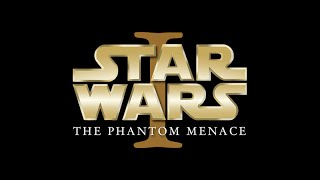 """Opening crawl to the Phantom Menace, with some minor changes to the 20th Century Fox opening (""""STAR WARS  EPISODE I..."""