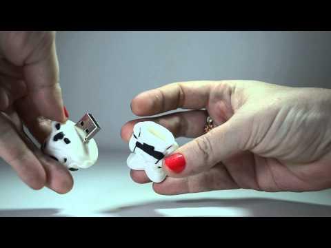 Pen Drive 8GB  White Trooper - Star Wars - Pronta Entrega - USB