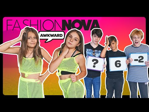 My Crush REACTS to my FASHION NOVA Outfits **FUNNY CHALLENGE** 🤣| Sophie Fergi Piper Rockelle