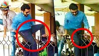 Video Surya jumps gate to escape crazy fans! | Thaana Serntha Kootam, Gang Movie News MP3, 3GP, MP4, WEBM, AVI, FLV Januari 2018