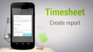 Timesheet - work time tracker YouTube video