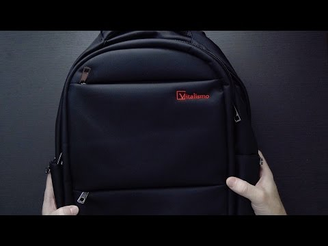 Slim Lightweight Laptop Backpack from Vitalismo