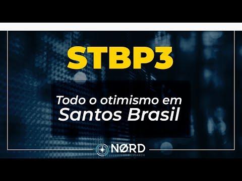 Frases inteligentes - STBP3: Todo o otimismo em Santos Brasil