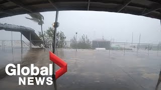Nightmare in Paradise: Grand Bahamas under attack by Hurricane Dorian for 12 more hours