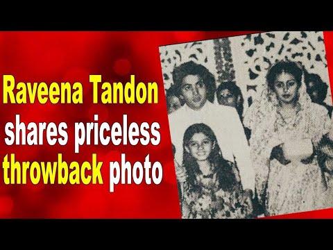 When Raveena Tandon attended Rishi Kapoor and Neetu Singhs wedding