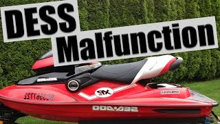 6. 2004 Sea-Doo XP DI - DESS Post Malfunction - Electrical Problem
