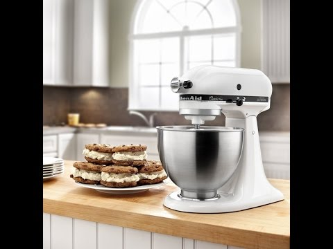 Review: KitchenAid KSM75WH 4.5-Qt. Classic Plus Stand Mixer – White