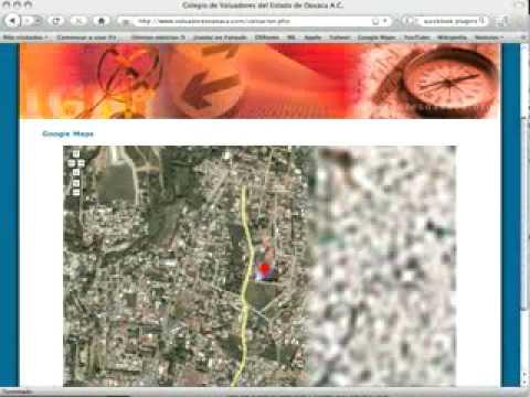 Página Web para un Colegio de Valuadores