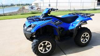 4. $9,999:  2018 Kawasaki Brute Force 750 in Vibrant Blue Overview and Review