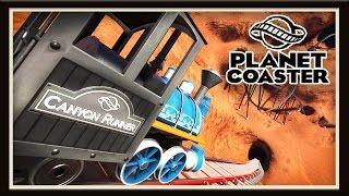 Planet Coaster: Crazy Western Roller Coaster Build!    (Season 2 - part 13)
