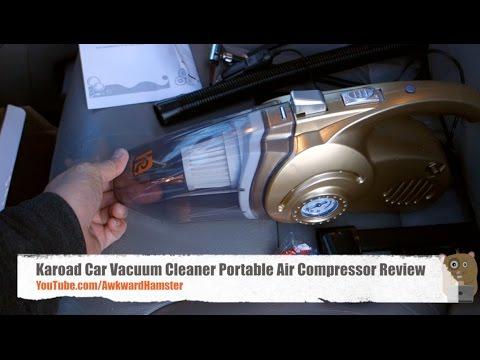Karoad Car Vacuum Cleaner Portable Air Compressor Review