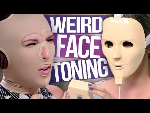3 Weird Facial Toning Tools