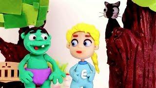 Video Superhero Cat rescue 💕 Play Doh Stop motion videos for kids MP3, 3GP, MP4, WEBM, AVI, FLV Juli 2018