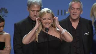Video Nicole Kidman, Reese Witherspoon - Big Little Lies - 2018 Golden Globes- Backstage Speech MP3, 3GP, MP4, WEBM, AVI, FLV Februari 2018