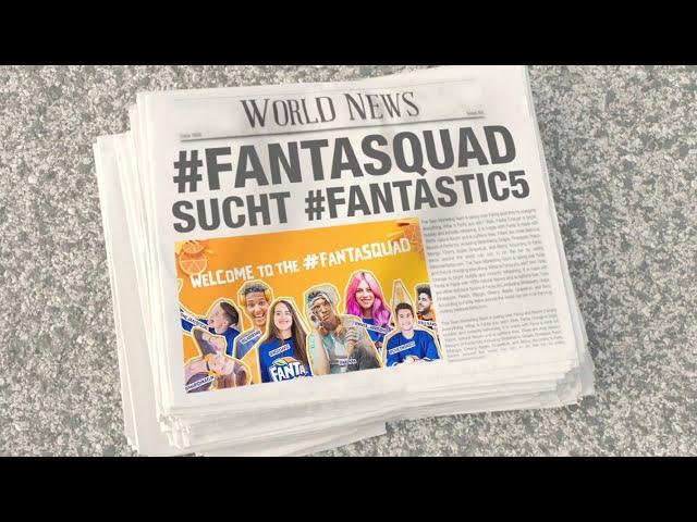 #FANTASQUAD SUCHT #FANTASTIC5