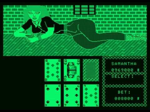Strip Poker (OMK) (1987) (Amstrad PCW)