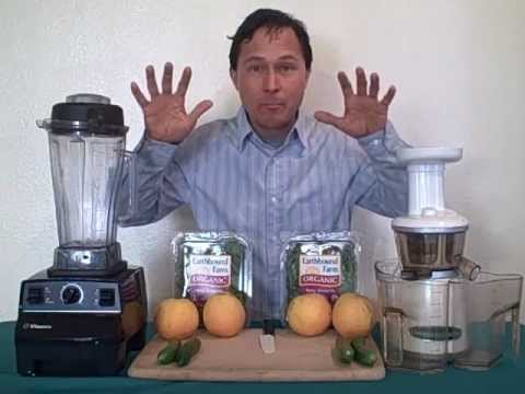 juicing - John from http://www.discountjuicers.com/ answers the question what is the difference between blending and juicing. In this video you will learn the specific...
