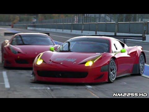 INSANE Ferrari 458 GT3 Sound on Track!