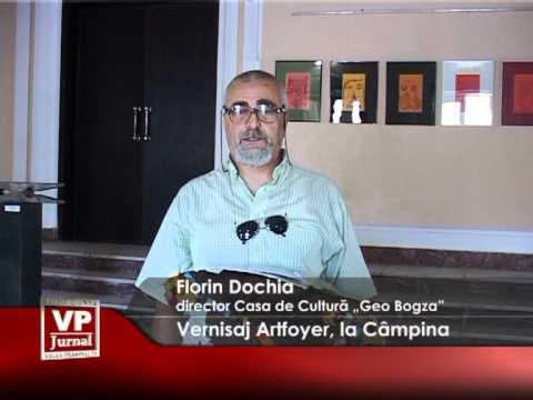Vernisaj Artfoyer, la Câmpina