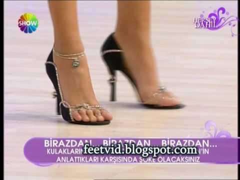nurseli idiz ayakları