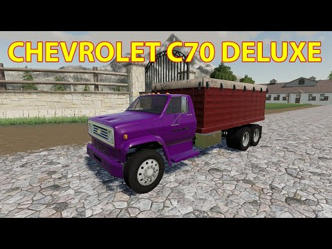 Chevy C70 Deluxe Grain Tandem v1.0