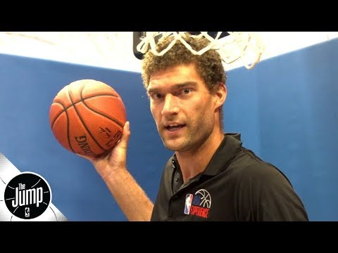 Video: Brook Lopez: I wanted to scream like Kevin Garnett after dunking on twin Robin Lopez | The Jump