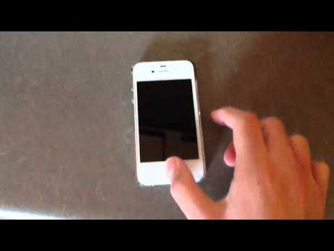 how to how battery percentage on iphone 4s