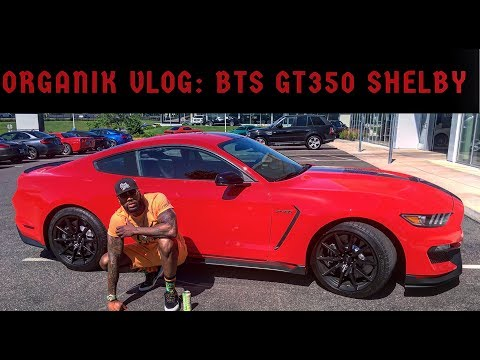 Organik vlog: TGCR: BTS OF REVIEWING A ( GT350shelby)