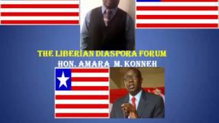 LIBERIAN DIASPORA FORUM With Amara M. Konneh