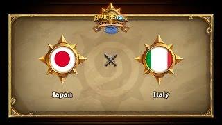 JPN vs ITA, game 1
