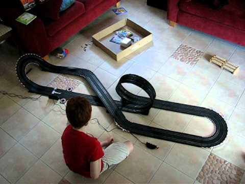 Carrera GO!!! Formula One Competition 1:43 scale slot car racing track