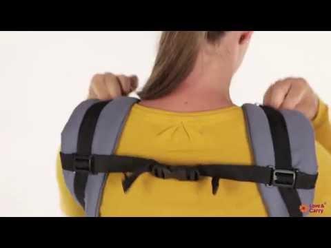 Эрго-рюкзак Love & Carry. Инструкция: позиция