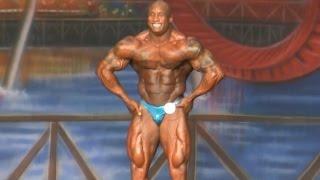 Keith Williams IFBB Pro Bodybuilder 2014 Europa Show