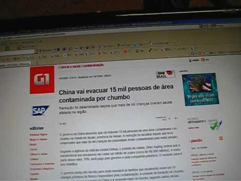 China e Adrianópolis com chumbo