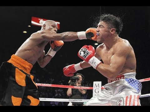 Mayweather Ortiz Knockout