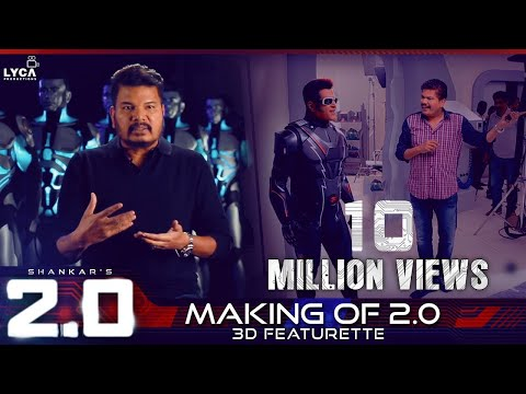 Making Of 2.0 - 3D Featurette | Ra ..