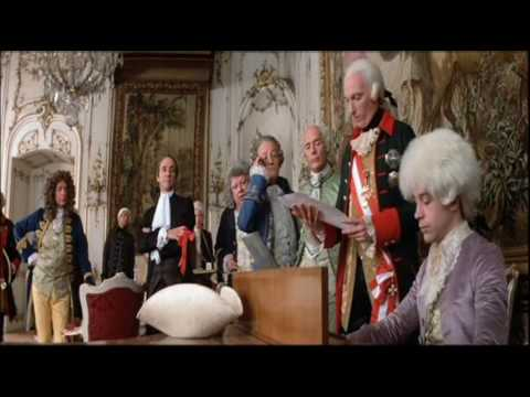 amadeus - A collage from the film 'Amadeus'. Salieri, Austria's court composer, discusses the time he first met Mozart.