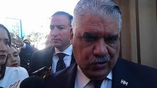 Miguel Vargas niega reunión con Marlin Martínez