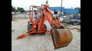 9. Sold! 2005 Allmand TLB-325 Mini Backhoe Loader Tractor Kohler bidadoo.com