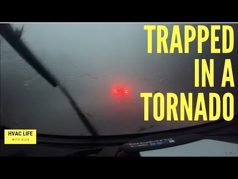 Trapped in the Newburgh tornado on 84!