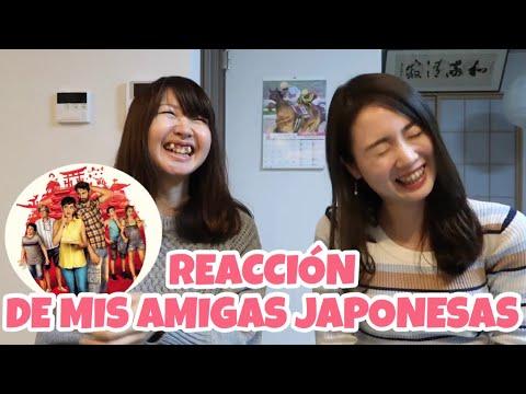 """Frases de amigos - MIS AMIGAS JAPONESAS reaccionan a la película """"Los Japón"""" LaEsponesa #180"""