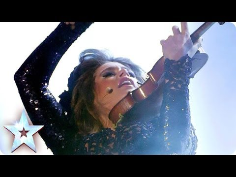 Violinist Lettice Rowbotham rocks Evanescence's Bring Me to Life | Britain's Got Talent 2014 Final
