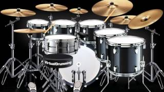 Rebelution - Safe and Sound [Virtual Drumming]