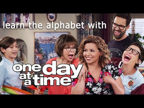 learn the alphabet with One Day At a Time