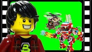 Animated LEGO Movie Rescue Reinforcements 70813 Flash Speed Build