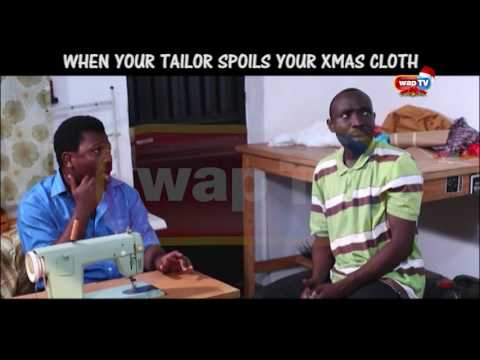"AKPAN AND ODUMA ""WHEN YOUR TAILOR SPOILS YOUR CHRISTMAS CLOTH"""